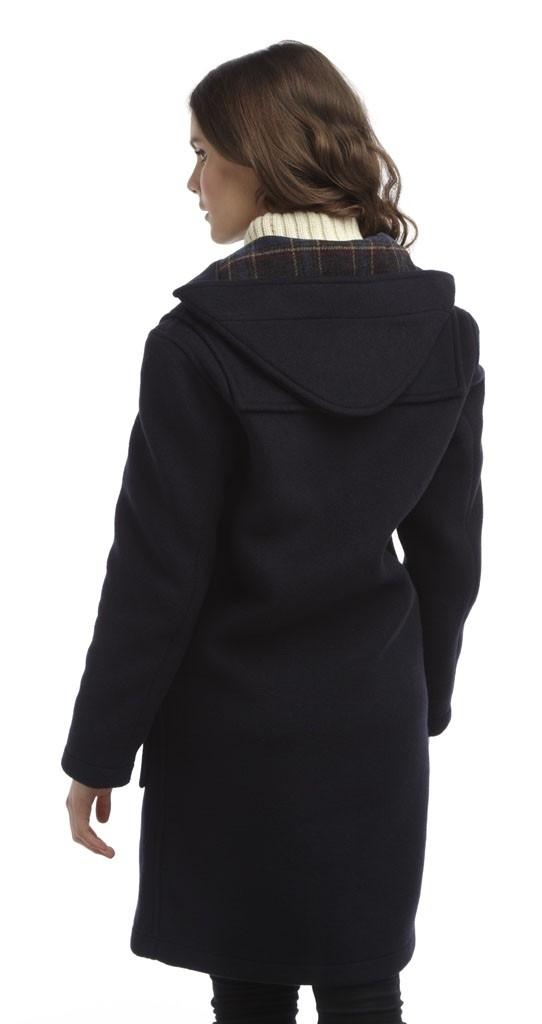 Hagyományos női Original Montgomery Classic Duffle Coat Navy düftin ... 64e871204b